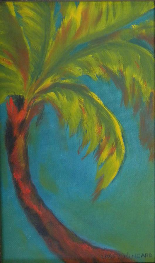 Palm Tree Painting - Palm Fusion by Lacey Wingard