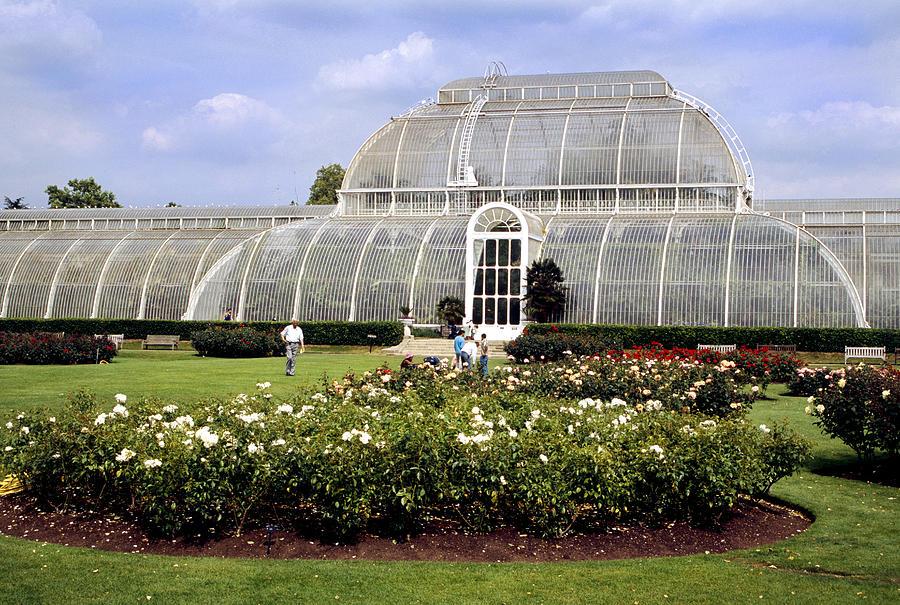 Kew Gardens Photograph - Palm House Kew Gardens London England by House Of Joseph Photography