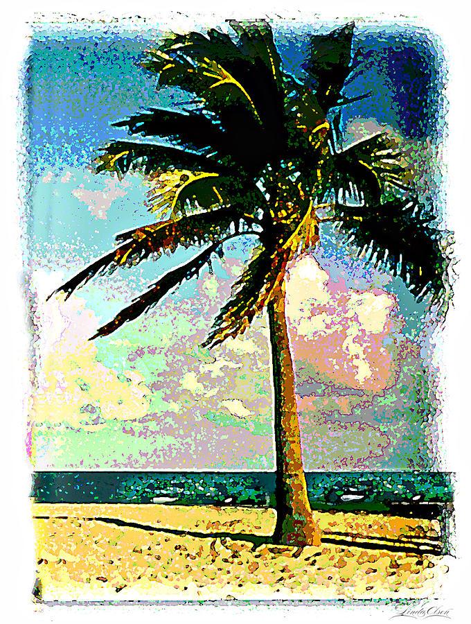 Palm Photograph - Palm Three by Linda Olsen