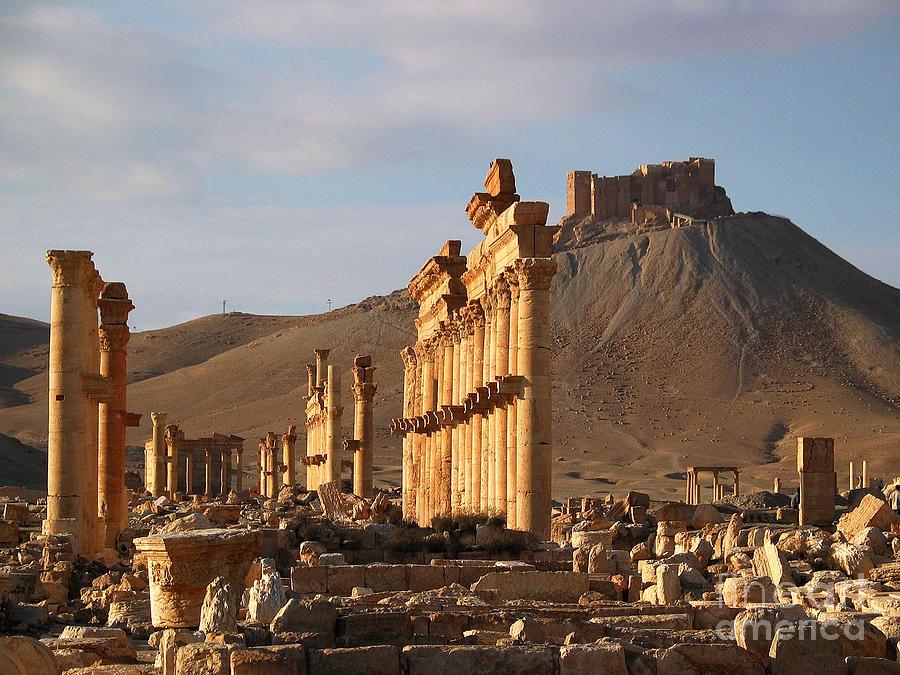 Palmyra Photograph - Palmyra by Issam Hajjar
