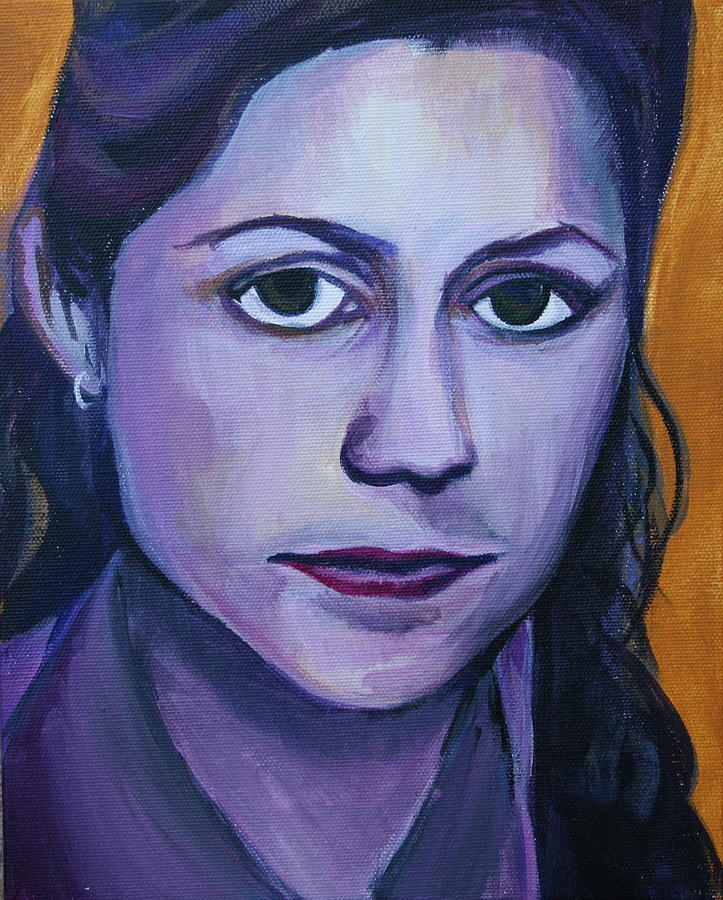 Pam Painting - Pam by Kate Fortin