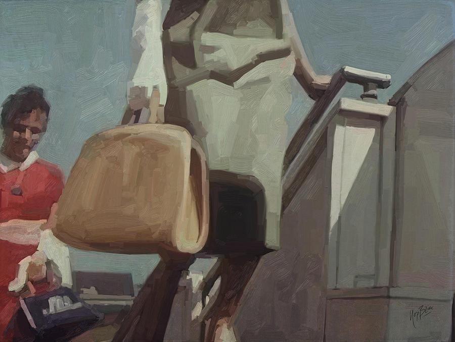 Panam Painting - Pan American Airways Passengers by Nop Briex