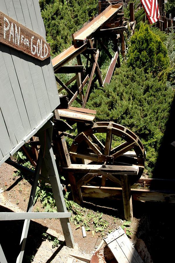 Usa Photograph - Panning For Gold In Virginia City Nevada by LeeAnn McLaneGoetz McLaneGoetzStudioLLCcom