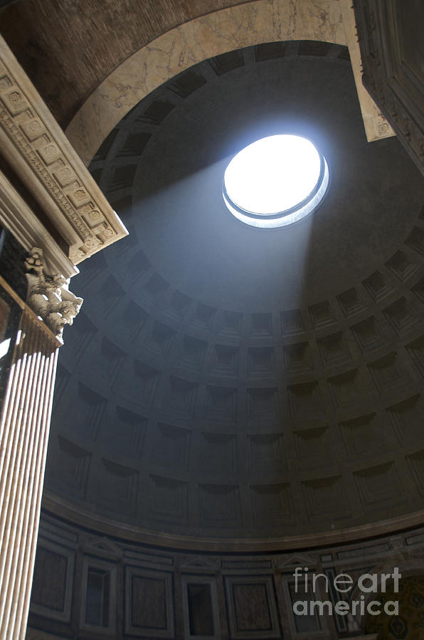 Worthyness Photograph - Pantheon. Rome by Bernard Jaubert