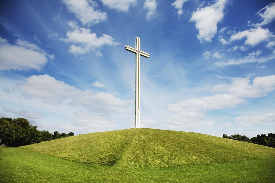 Papal Cross In Phoenix Park Dublin Photograph By Patrick Swan