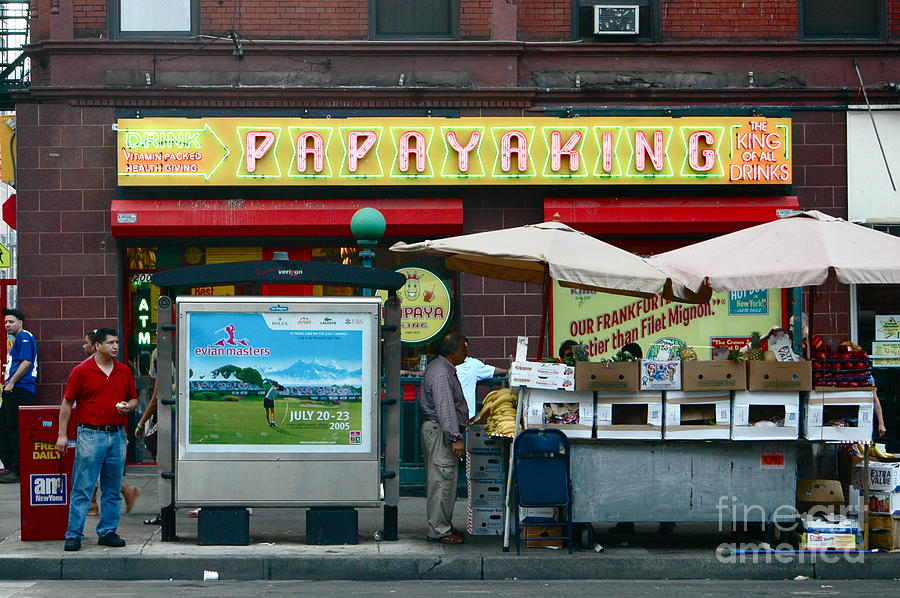 Nyc Photograph - Papaya King by Mark Gilman