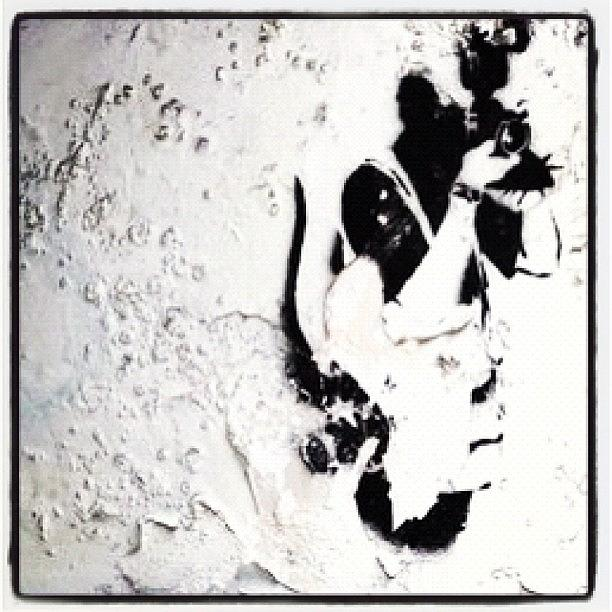 Stencil Photograph - #papparazzi #banksy #rat #photographer by A Rey