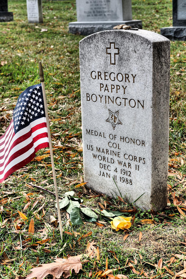 Image result for pappy boyington headstone
