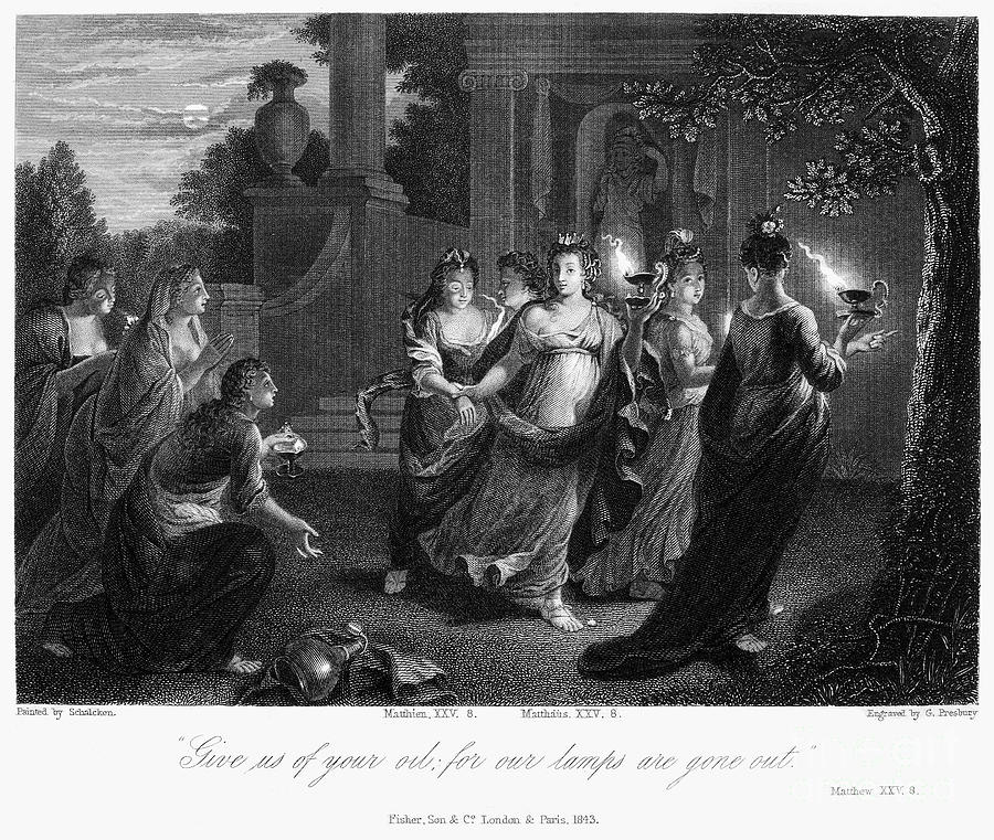 Christianity Photograph - Parable Of Virgins by Granger