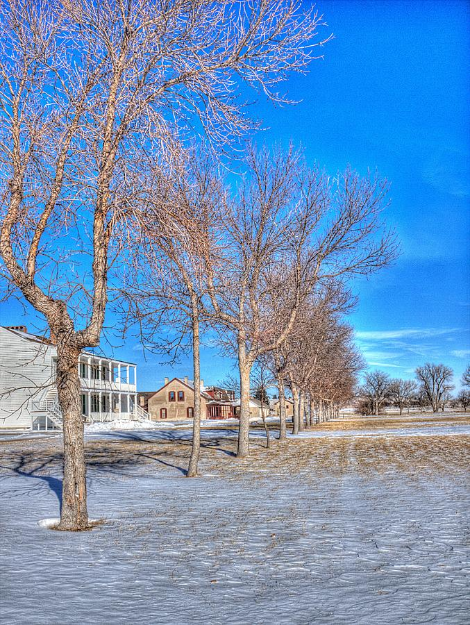 Parade Photograph - Parade Grounds - Fort Laramie  by HW Kateley