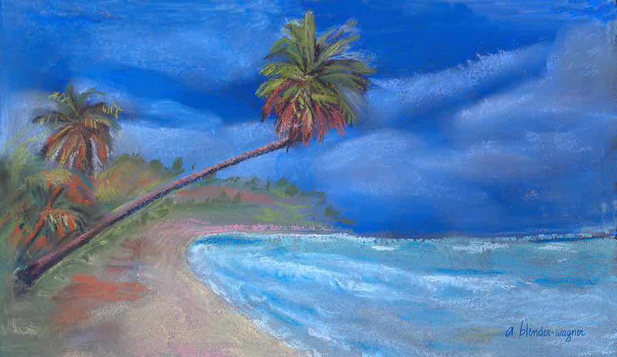 Beach Pastel - Paradise In Puerto Rico by Arline Wagner
