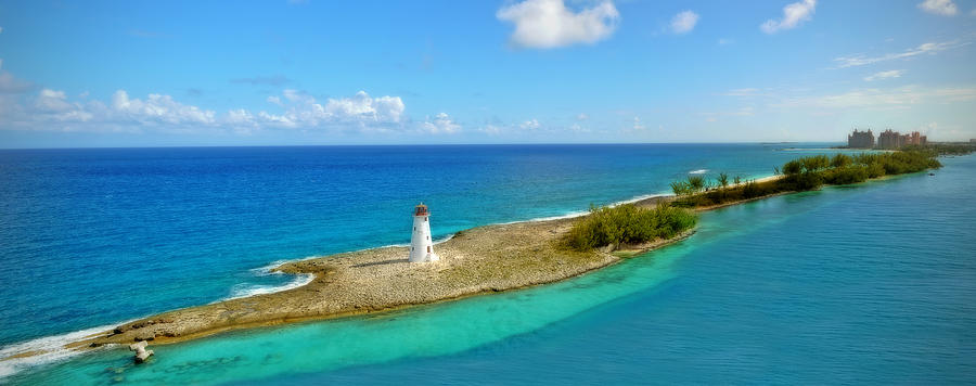 Water Photograph - Paradise Island by Kathy Jennings