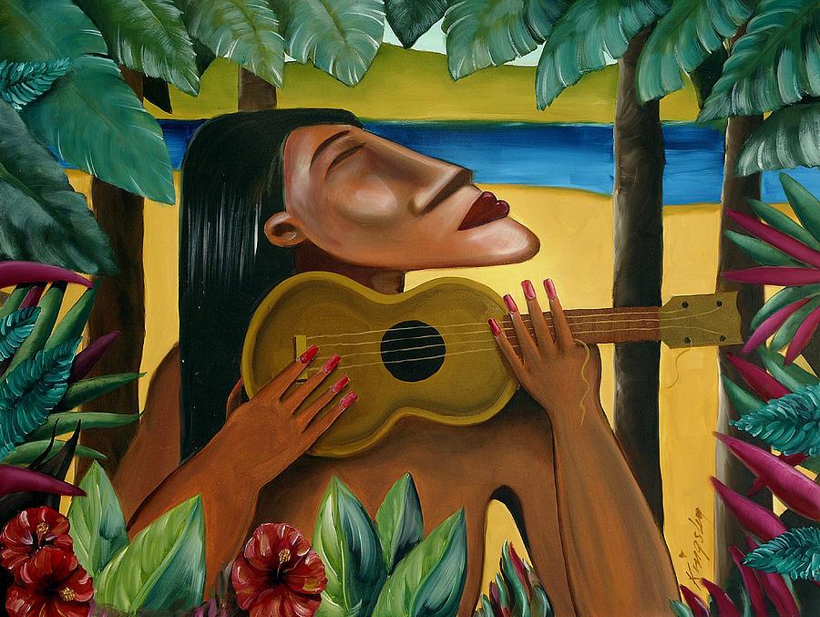 Hawaii Digital Art - Paradise Lost by Mark Kingsley Brown