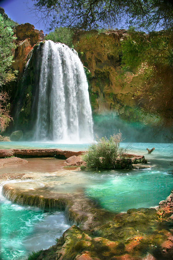 Waterfall Photograph - Paradise by PMG Images