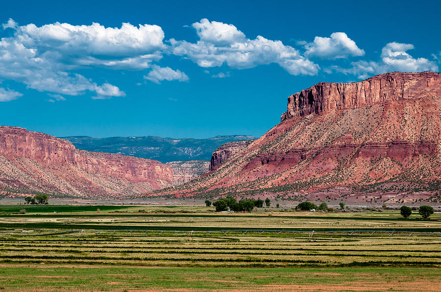 Blue Photograph - Paradox Valley One by Josh Whalen