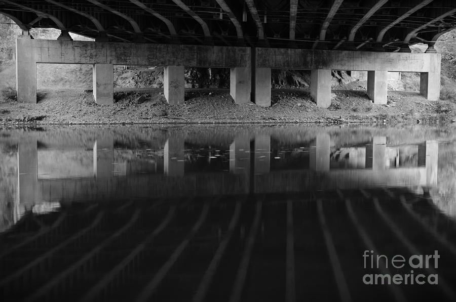 Bridge Photograph - Parallel Universe by Luke Moore