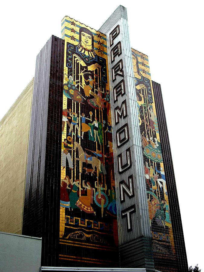 Paramount Theater Oakland by Kelly Manning