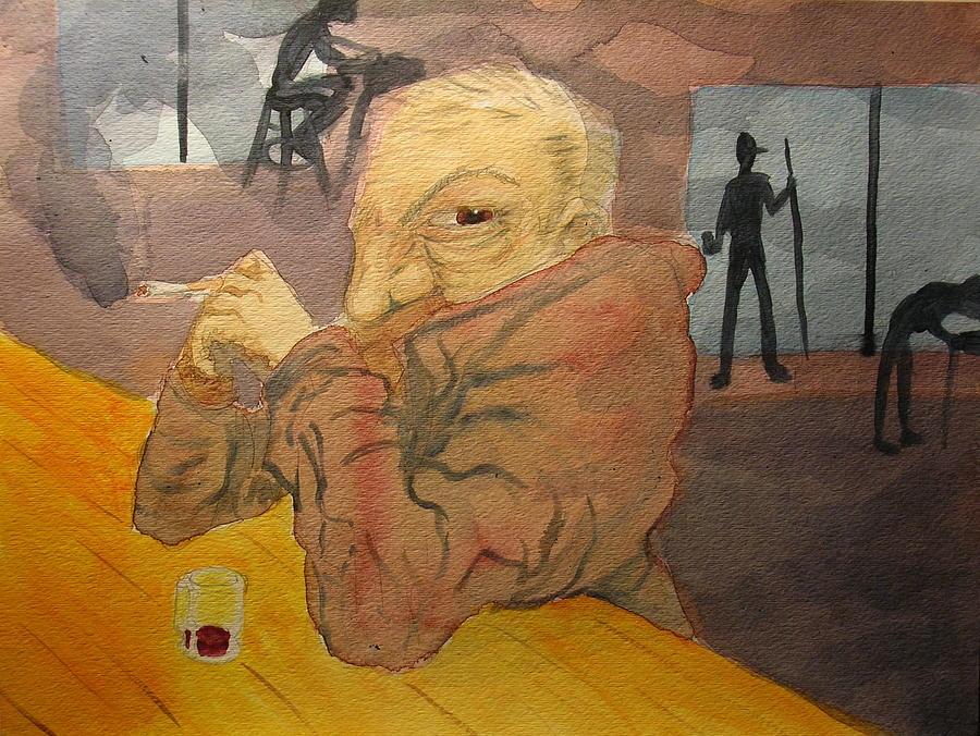 Paranoia Painting By Nicholas Vermes