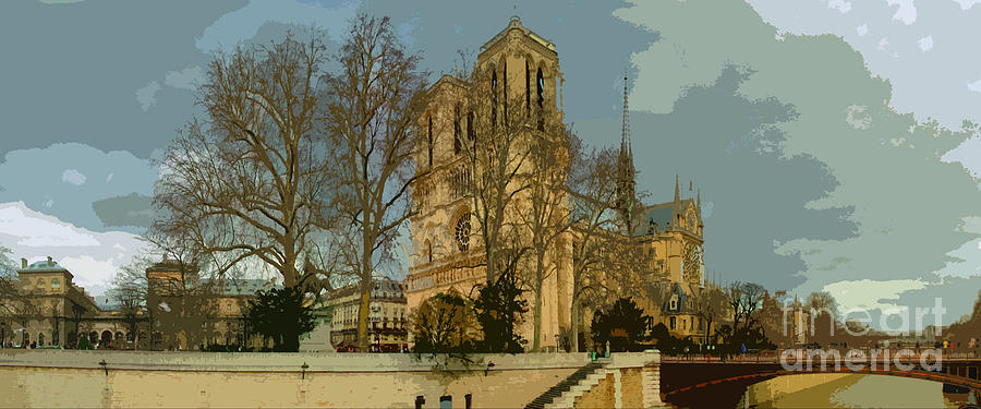 Paris Photograph - Paris 03 by Yuriy  Shevchuk