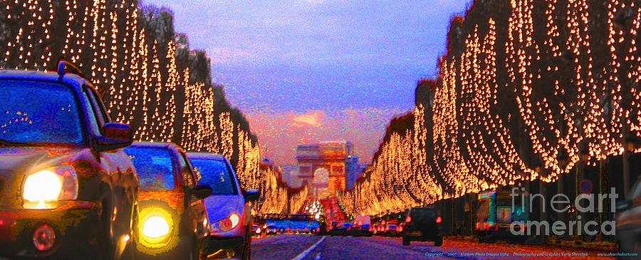 Paris Photograph - Paris 04 by Yuriy  Shevchuk