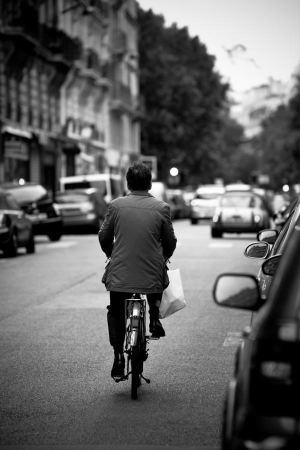 Bike Photograph - Paris by Bike by Edward Myers