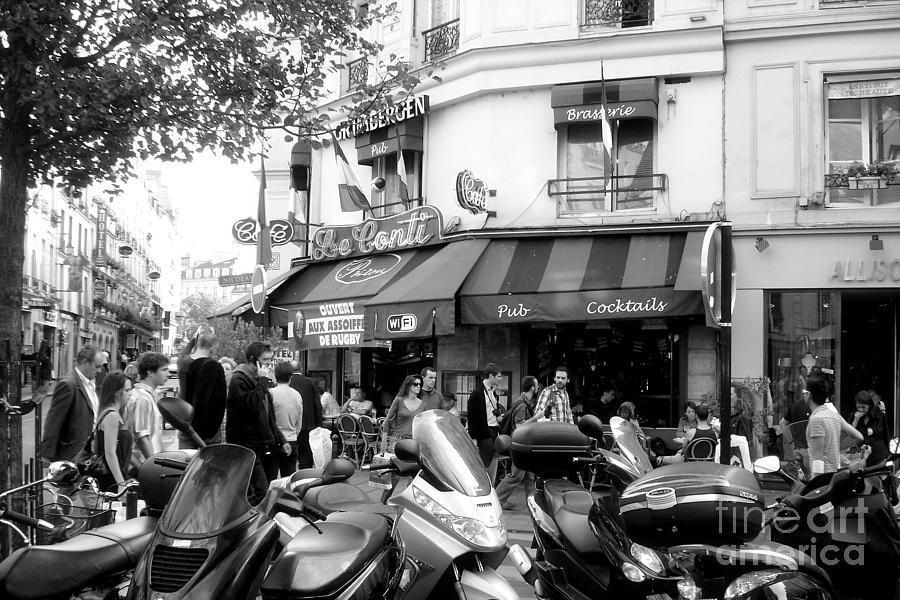 Paris Photograph - Paris Corner by Tanya  Searcy