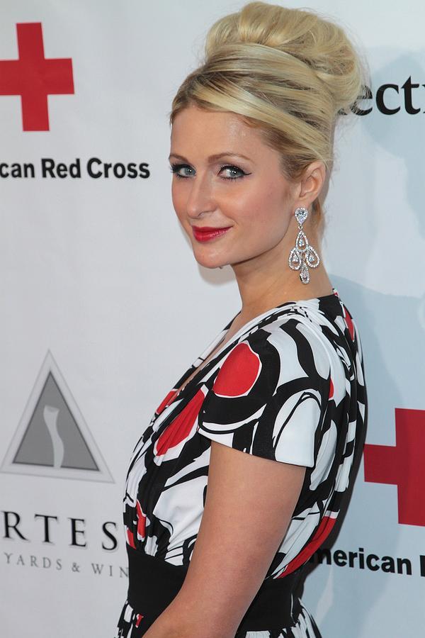 Paris Hilton Photograph - Paris Hilton At Arrivals For American by Everett
