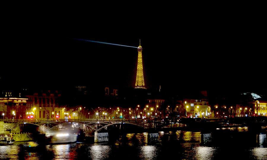 Eifel Tower Photograph - Paris Night by Keith Stokes