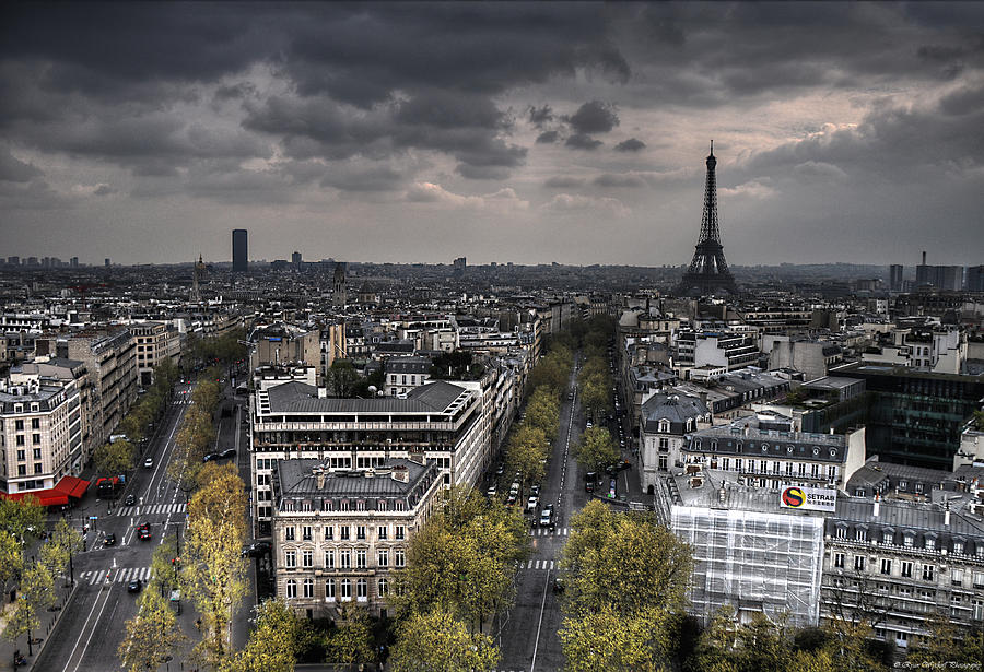 Paris Photograph - Paris No. 1 by Ryan Wyckoff