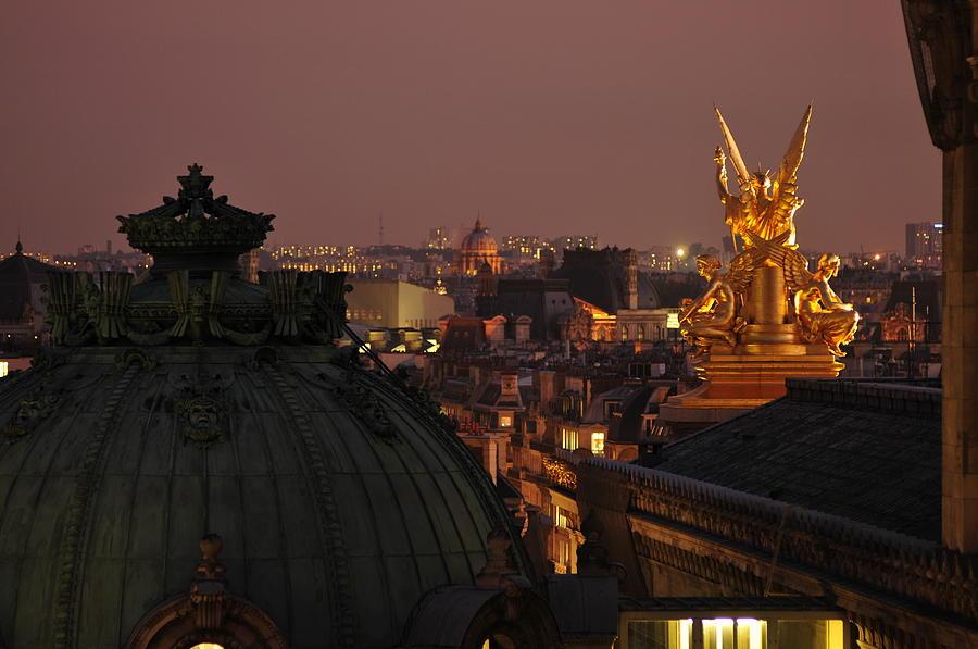 Paris Photograph - Paris Opera by Peter Millar