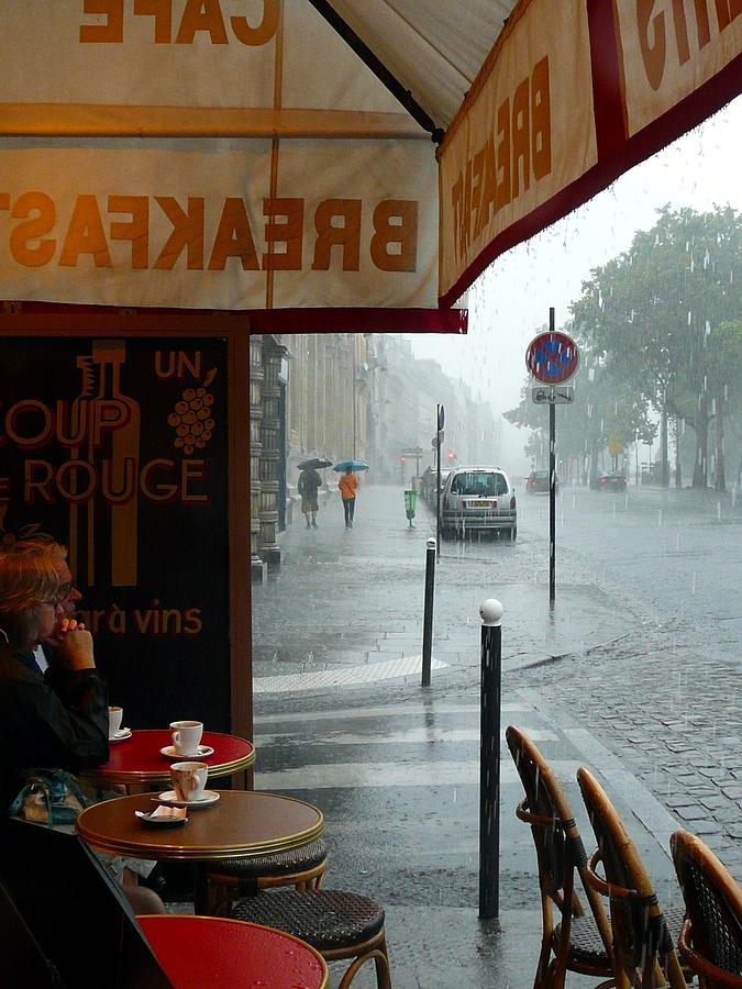 Paris Photograph - Paris Pluie by Rdr Creative