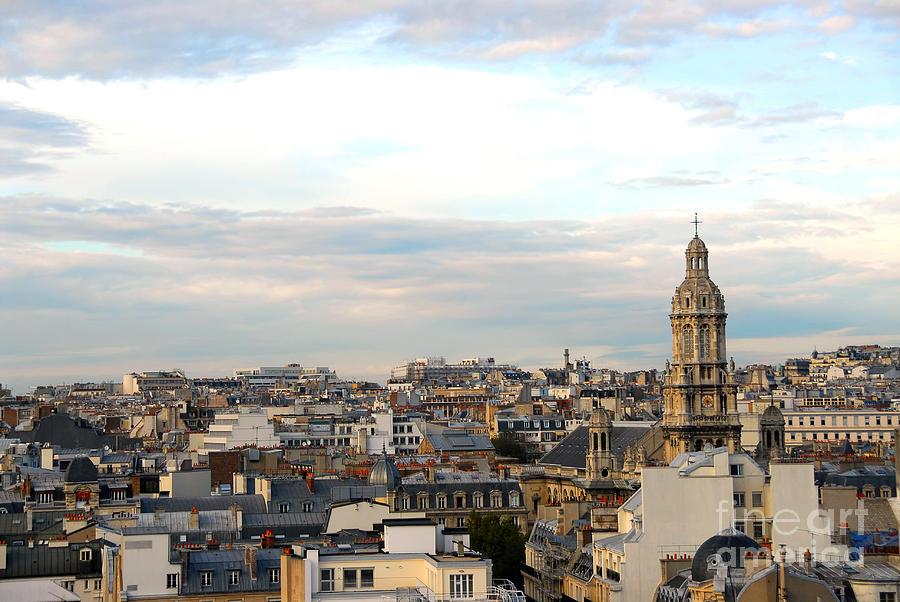 Paris Photograph - Paris Rooftops by Elena Elisseeva