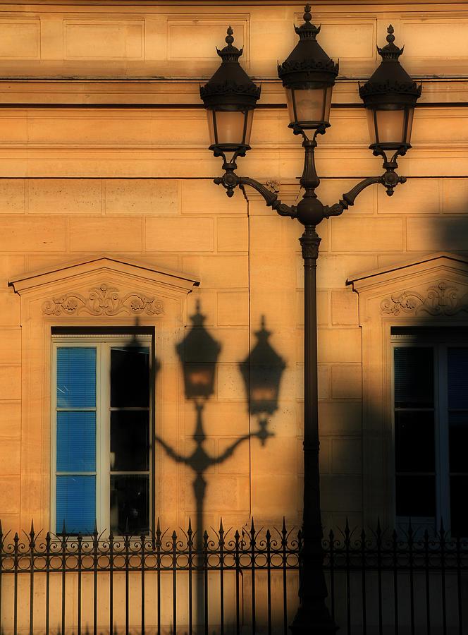 Paris Photograph - Paris Shadows by Andrew Fare