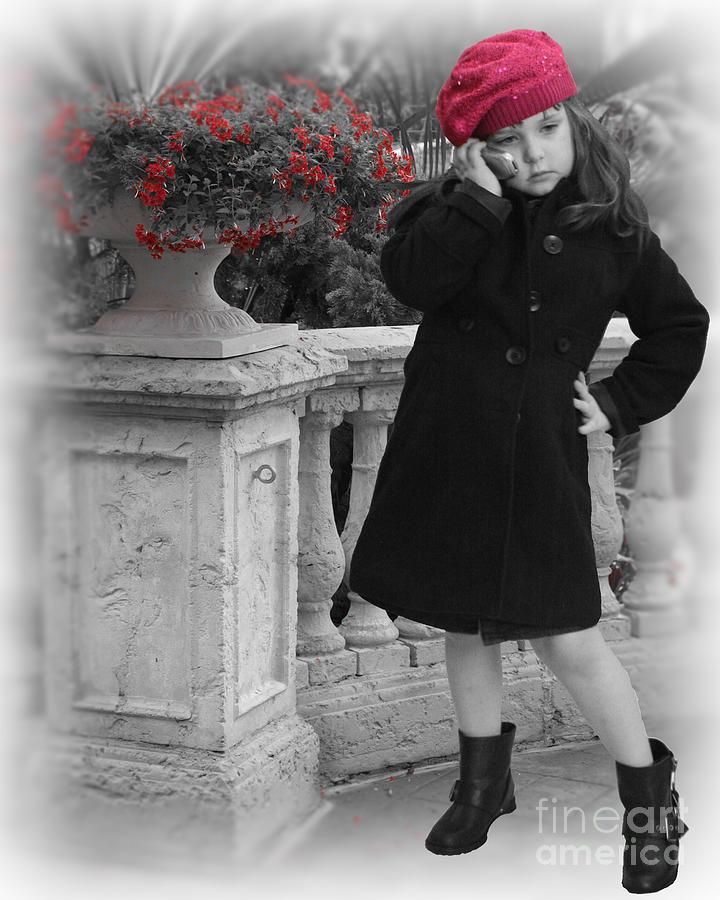 Chelsylotze Photograph - Parisian Model Stance by ChelsyLotze International Studio