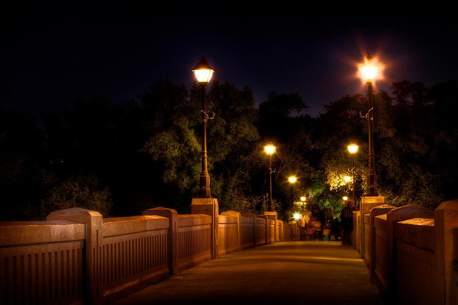 Bridge Photograph - Park Bridge by Stuart Deacon
