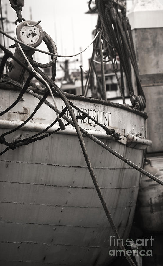 Boat Photograph - Parked Wanderlust by Patty Descalzi