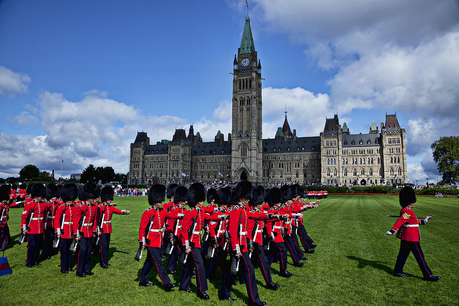 Parliament Building Photograph - Parliament Building Ottawa Canada  by Garry Gay