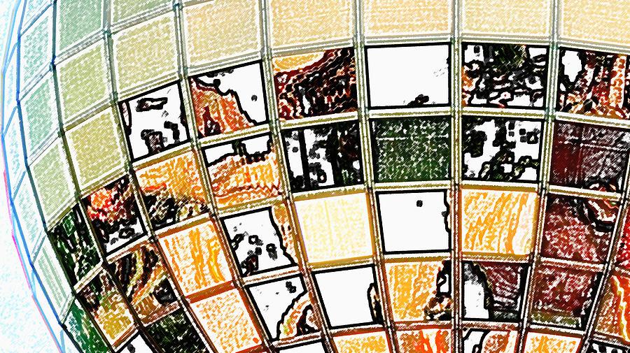 Knoxville Digital Art - Sunsphere by Bill Kennedy