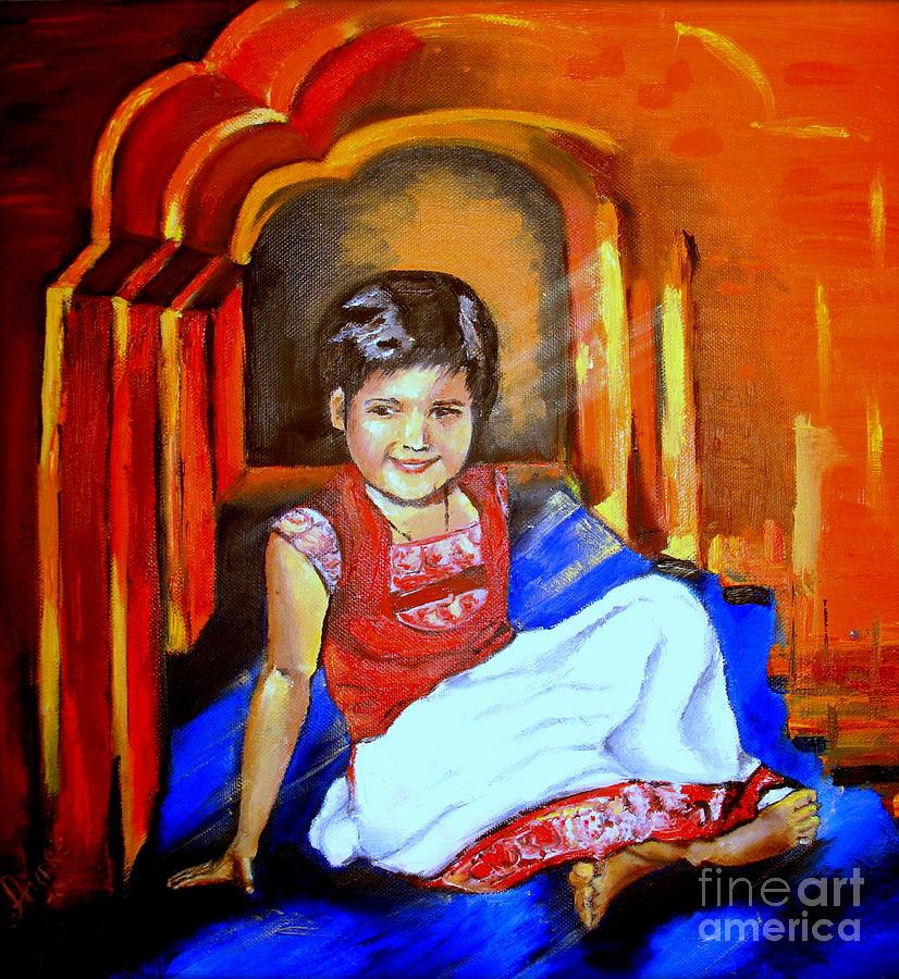 Parvati Painting by Tatjana Andre