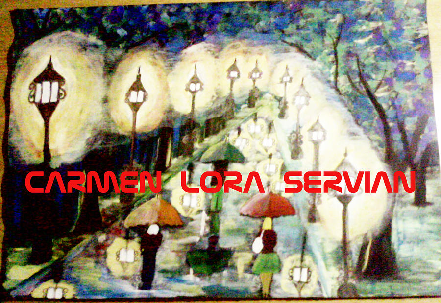 Paseo Painting by Mary Carmen Lora Servian