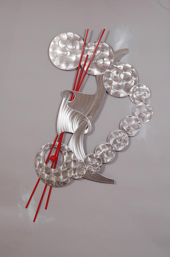 Metal Sculpture - Passage Of Time by Mac Worthington