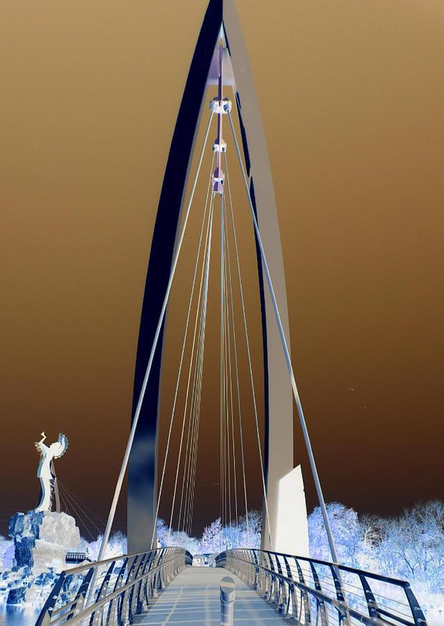 Bridge Photograph - Passage Way by David Alvarez