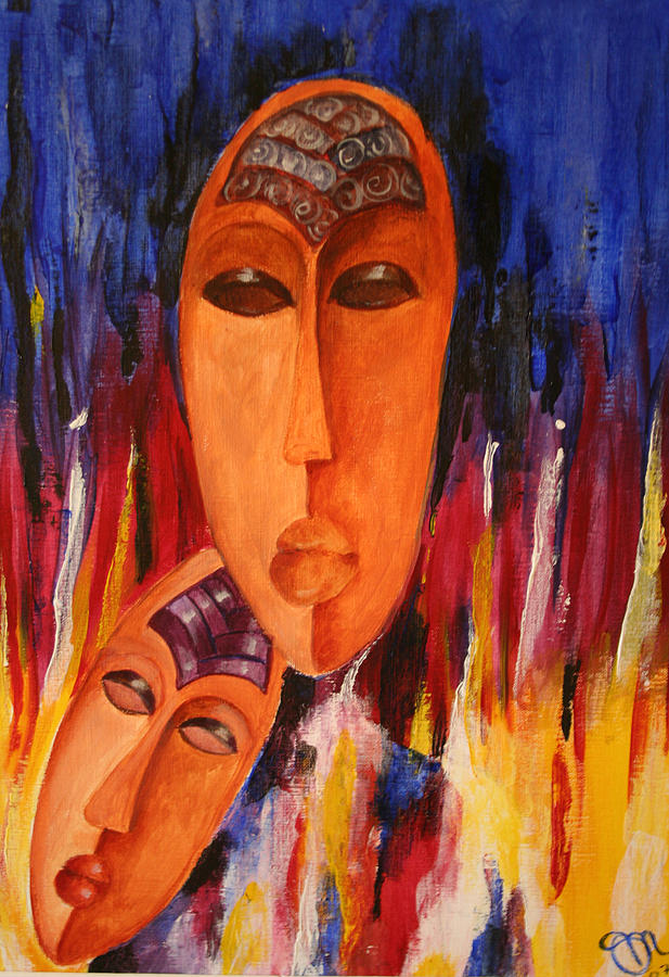 Love Painting - Passion 2007 by Simona  Mereu