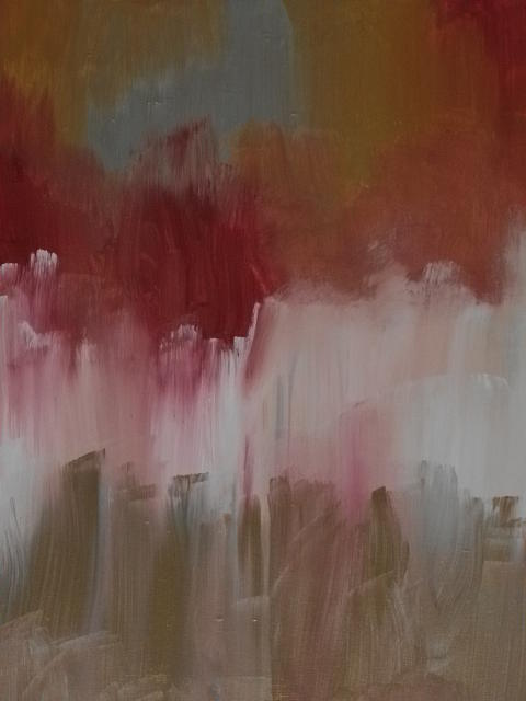 Acrylic Painting - Passion by Nikki Bishop
