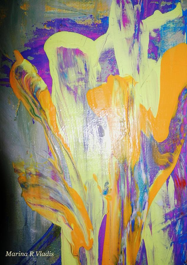 Poetic Painting - Passion Of The Mind by Marina R Raimondo