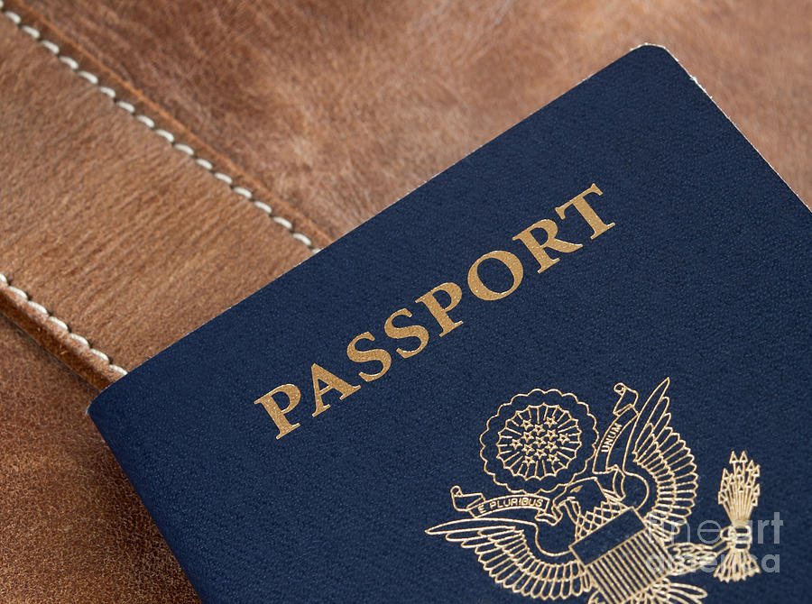 America Photograph - Passport by Blink Images