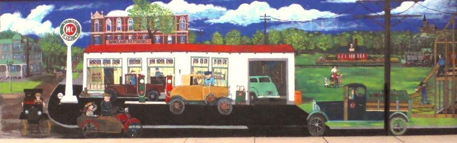 Sinclair Painting - Past Progress by Richard  Hubal