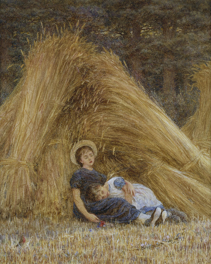 British Painting - Past Work by Helen Allingham