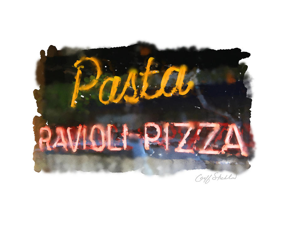 Pasta Digital Art by Geoff Strehlow