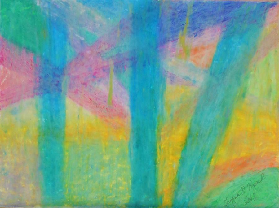 Pastel Green Painting